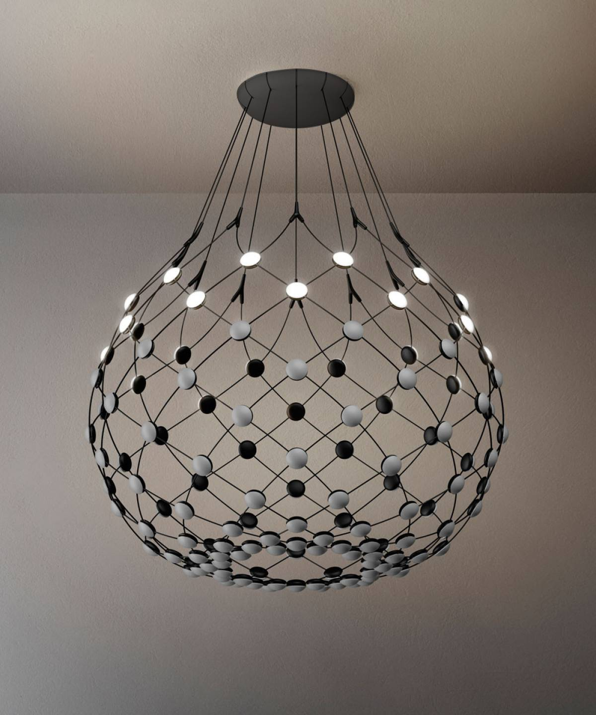 4 Mesh suspension lamp Luceplan