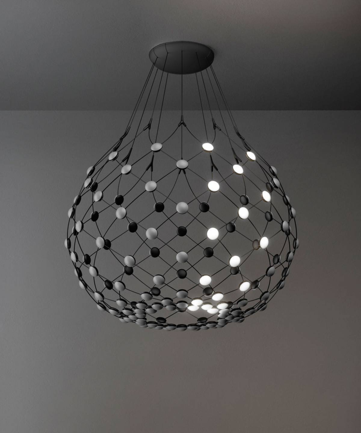 5 Mesh suspension lamp Luceplan