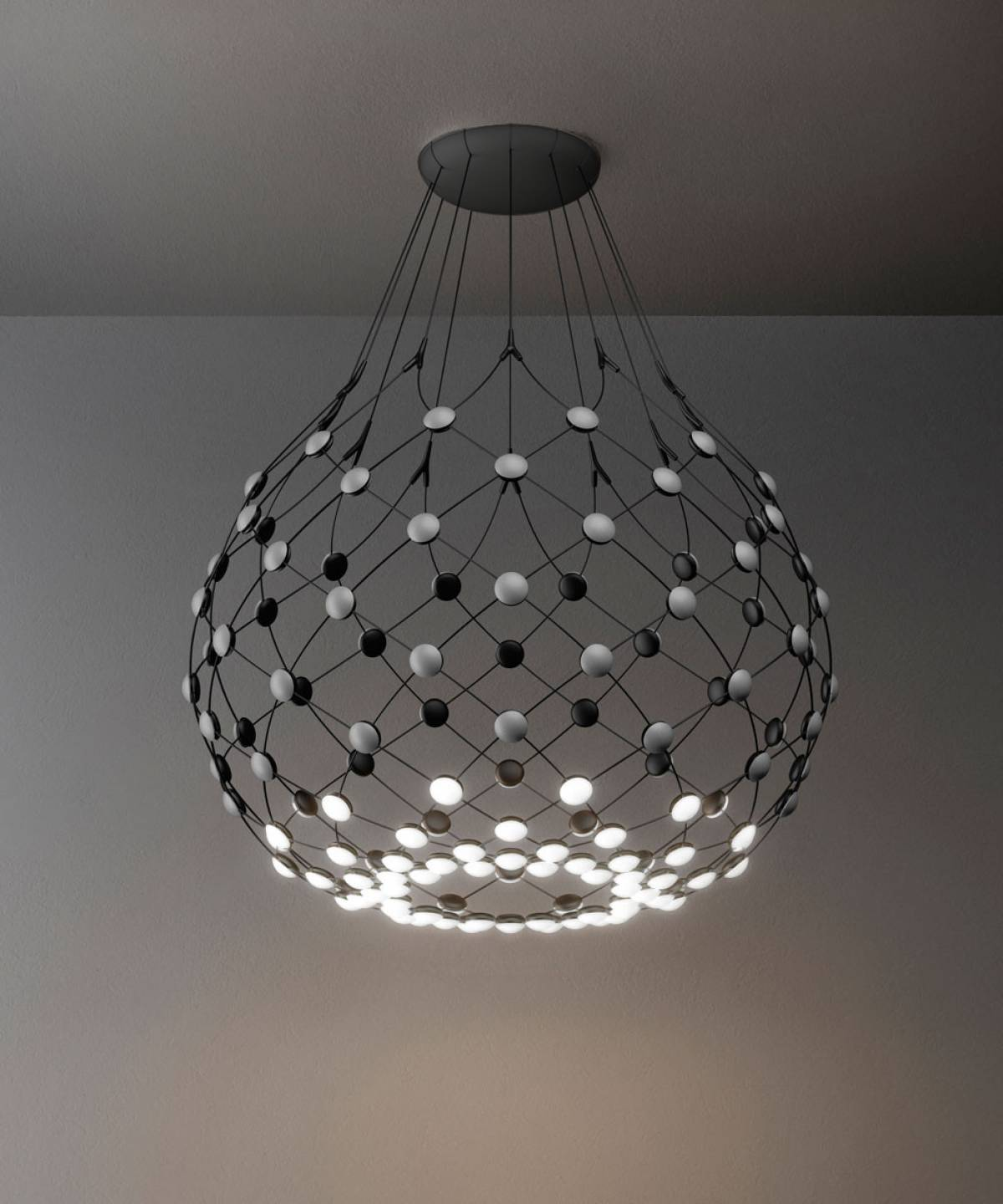 6 Mesh suspension lamp Luceplan