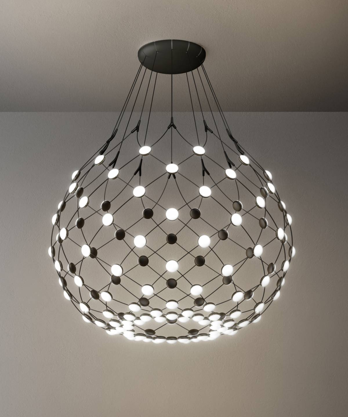 3 Mesh suspension lamp Luceplan