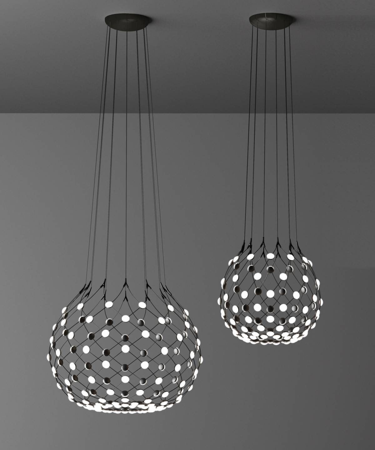 7 Mesh suspension lamp Luceplan