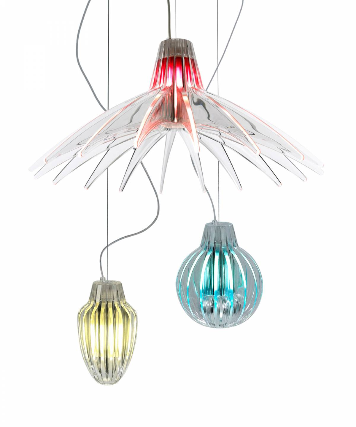 3 Agave suspension lamp Luceplan