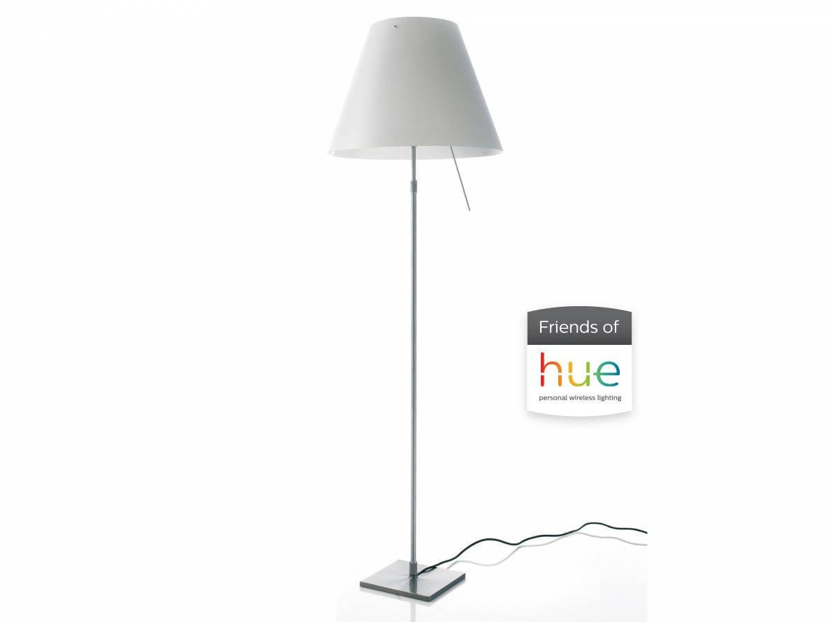 Costanza floor lamp friends of hue Luceplan