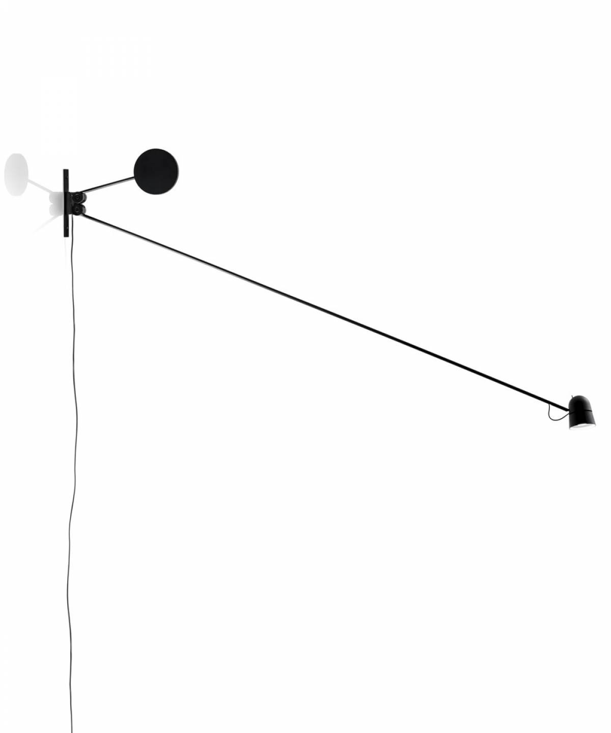 6 Counterbalance wall lamp Luceplan