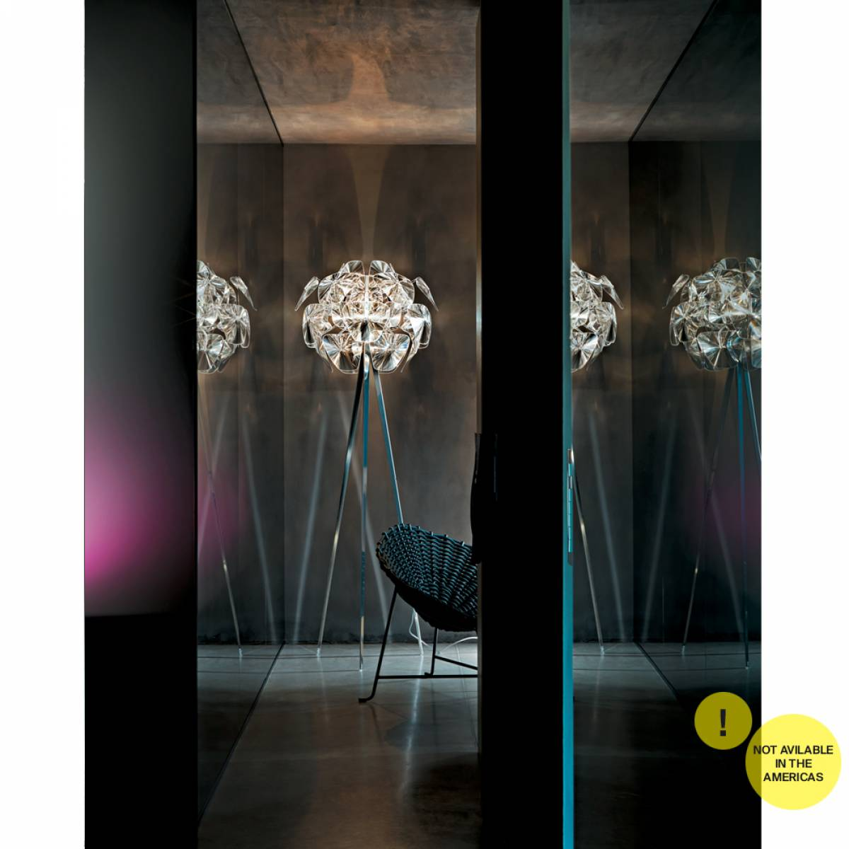 2 Hope floor lamp Luceplan