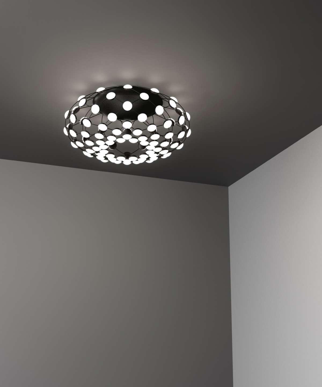 Mesh ceiling lamp Luceplan