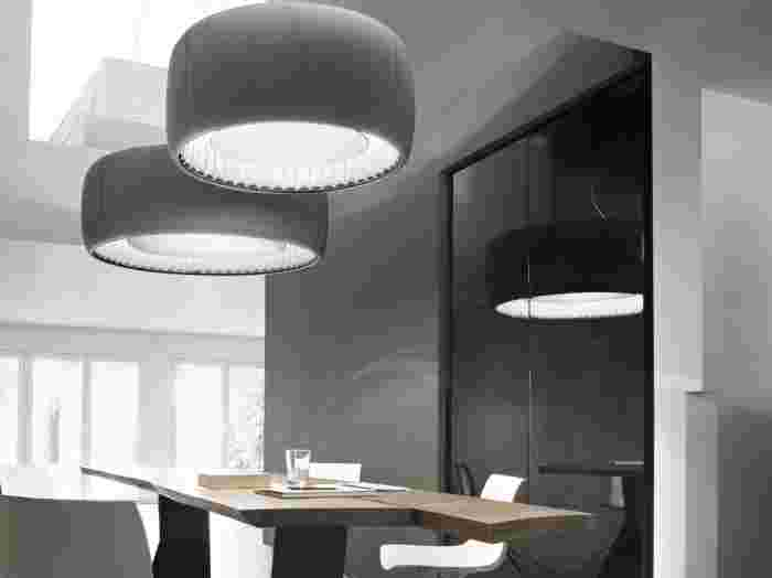 Silenzio by Luceplan acoustic lighting