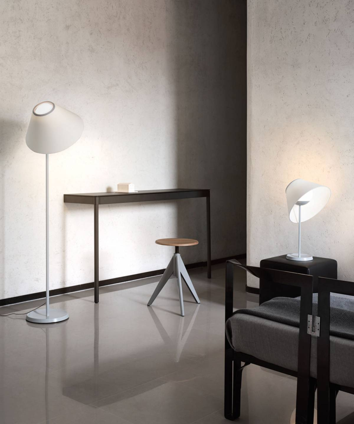 2 Cappuccina table lamp Luceplan