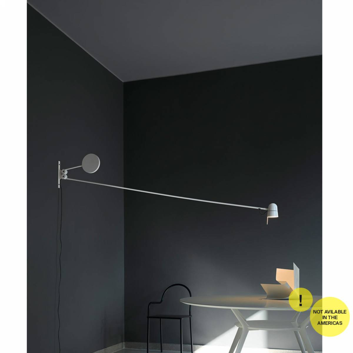 3 Counterbalance wall lamp Luceplan