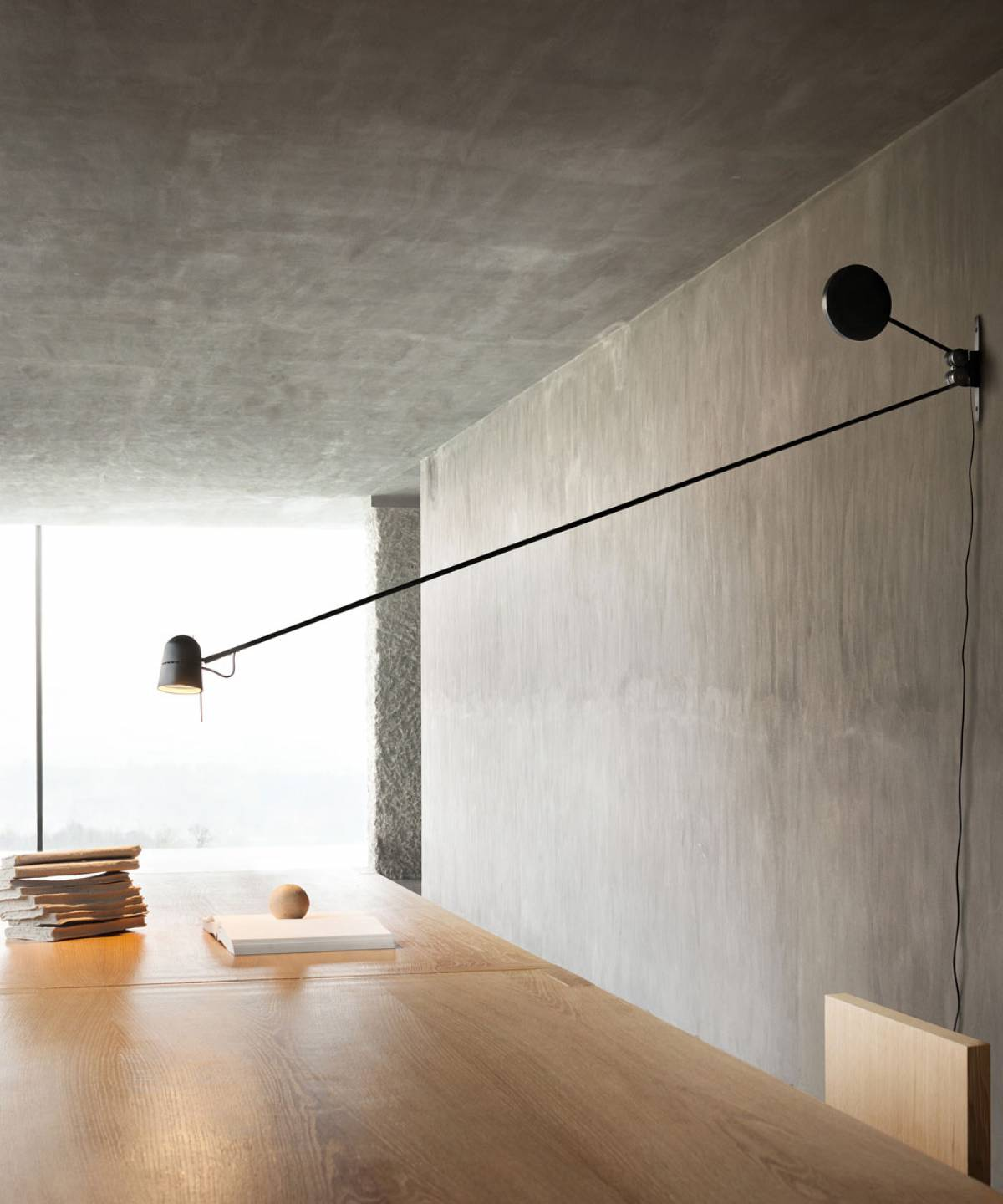 Counterbalance wall lamp Luceplan