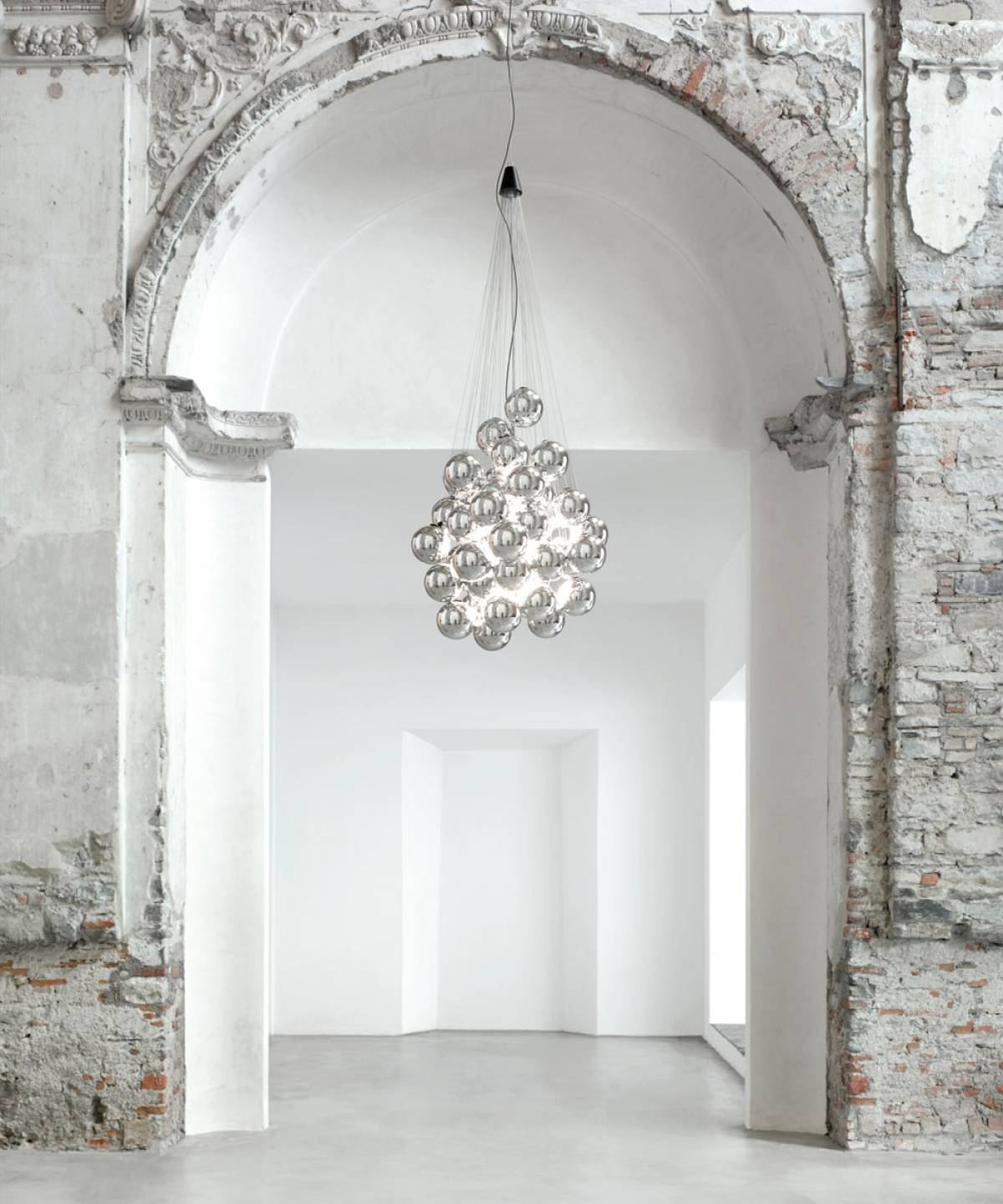 4 Stochastic suspension lamp Luceplan